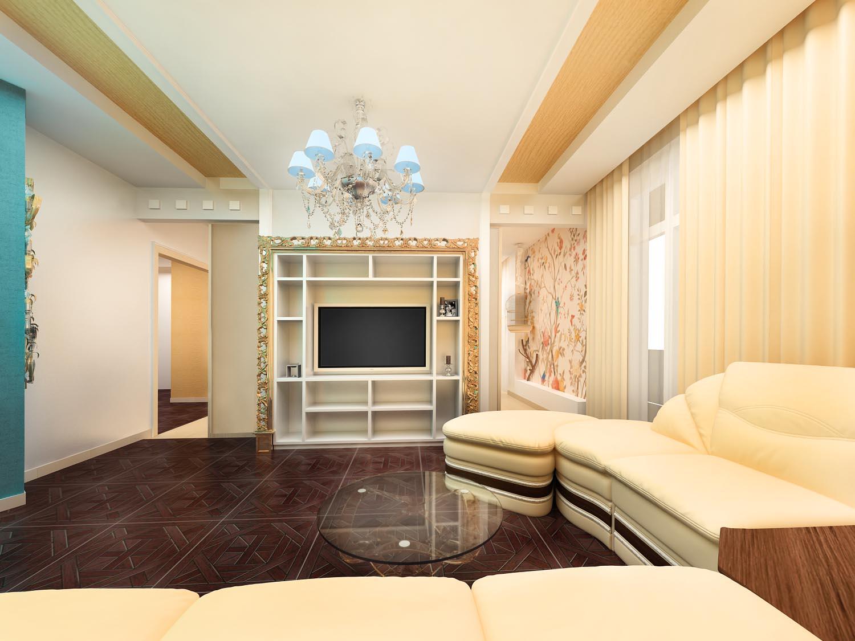 Дизайнерский ремонт четырех комнатной квартиры